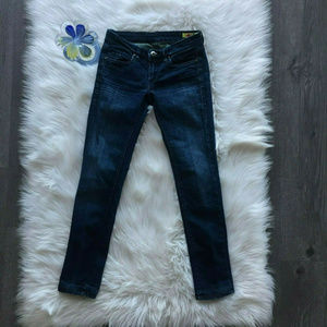 Blank NYC Straight Relaxed Skinny Jean Pants Sz 25